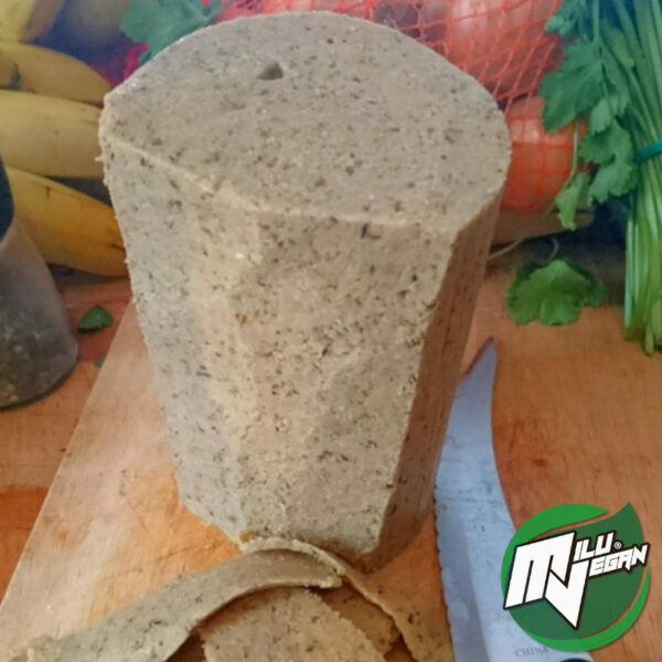 natur block seitan geschnitten Milu Vegan